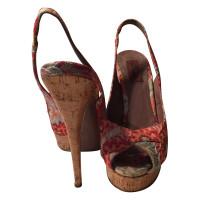 Missoni Plateau sandals with Cork