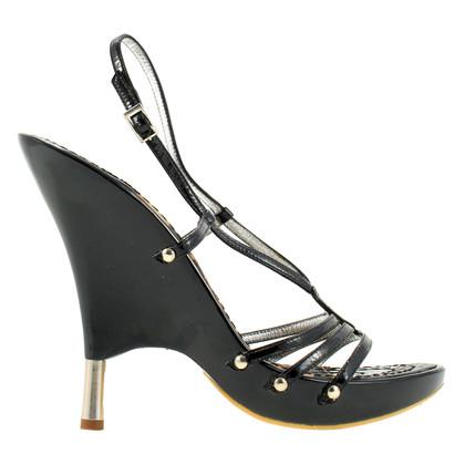 Roberto Cavalli Heels patent leather