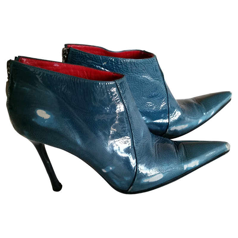 Cesare Paciotti Ankle boots patent leather