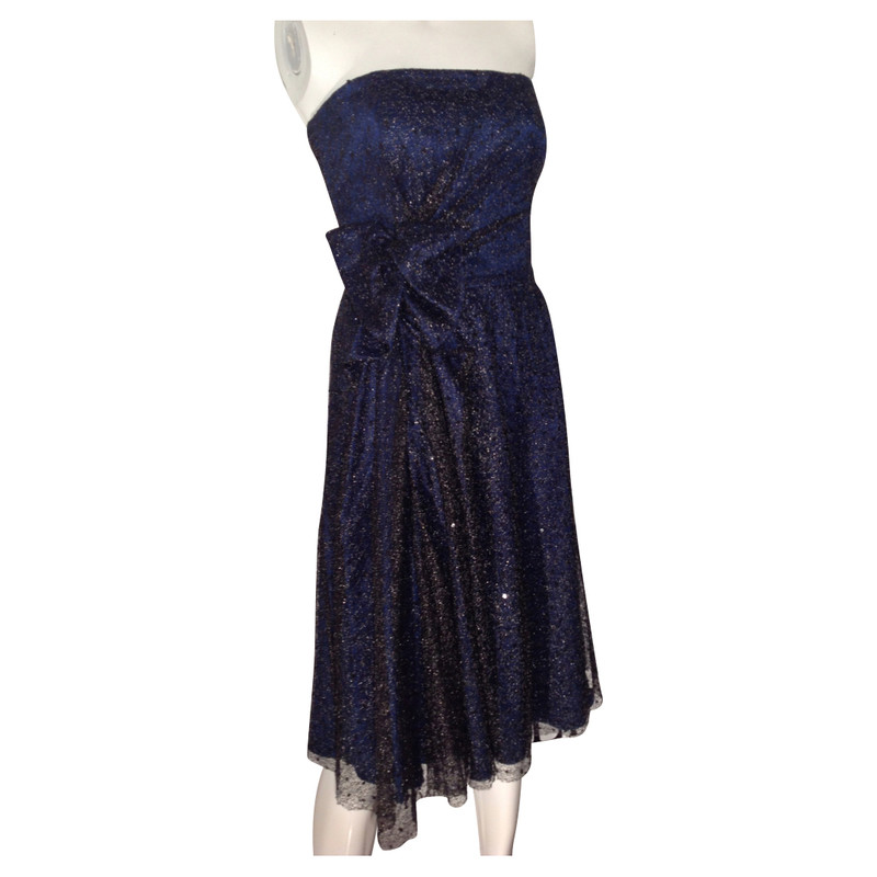 Armani Blauwe cocktail jurk