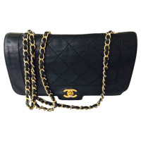 Chanel  Klep zak 2,55 in zwart-wit