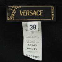 Versace Wol rok met kant