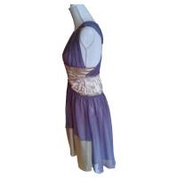 Alberta Ferretti Tailliertes Seidenkleid