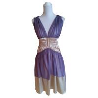 Alberta Ferretti Tailored silk dress