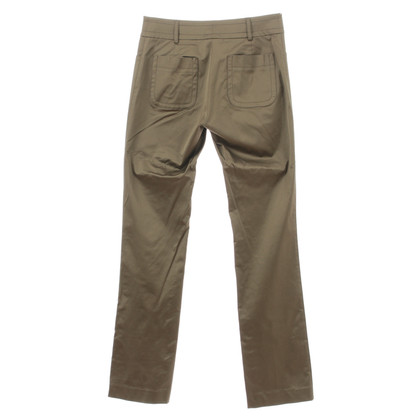 Etro Olive shiny pants