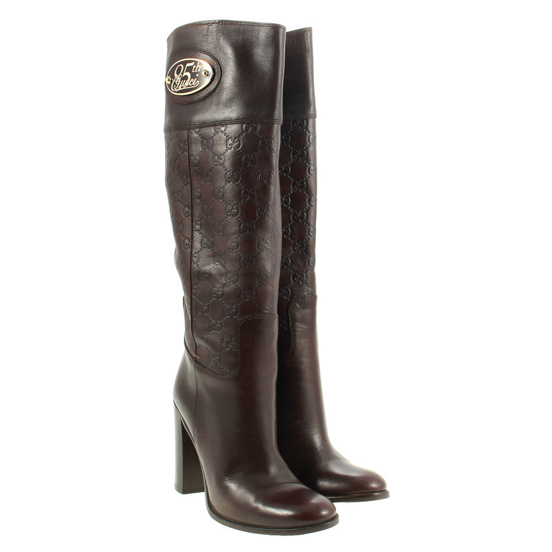 gucci 85th anniversary boots buy second hand gucci 85th anniversary boots for. Black Bedroom Furniture Sets. Home Design Ideas