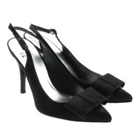 Stuart Weitzman Slingbacks with bow