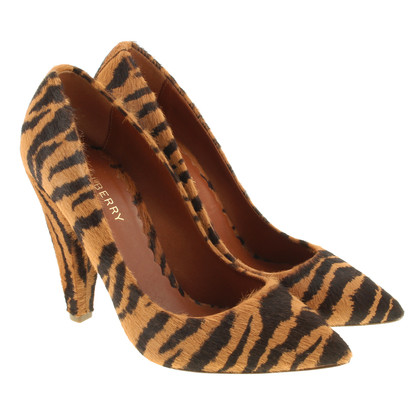 Mulberry Pumps with fur in the Tiger design