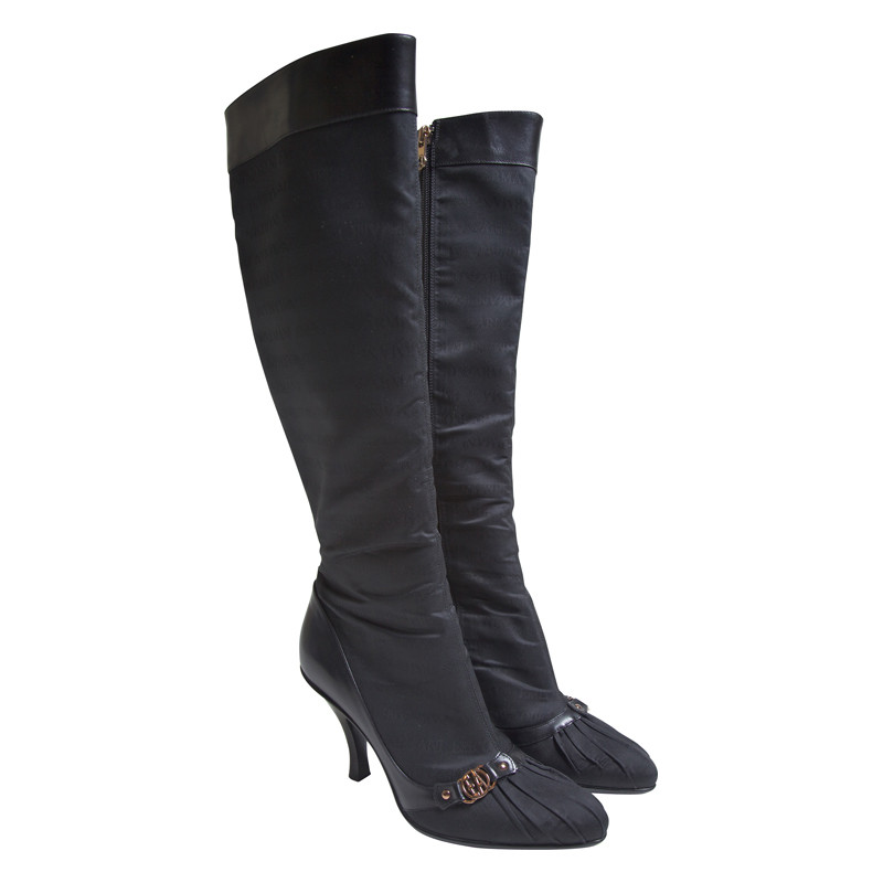 Armani Black boots