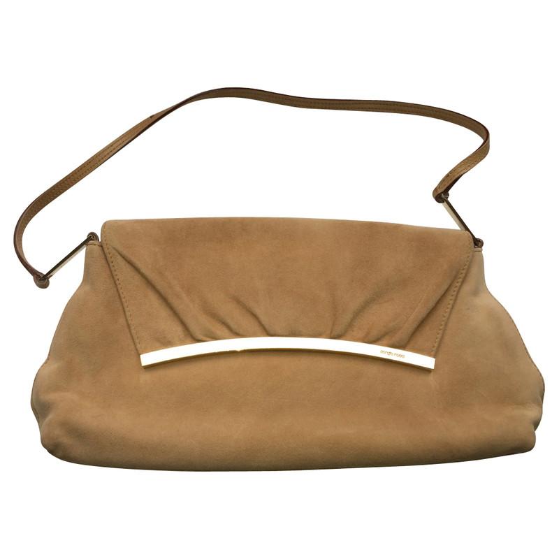 Sergio Rossi Handtasche aus Wildleder