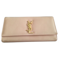 "Saint Laurent Clutch in ""Blush"""