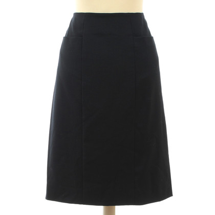 Chanel skirt in night blue