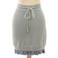 Acne skirt with glittery threads
