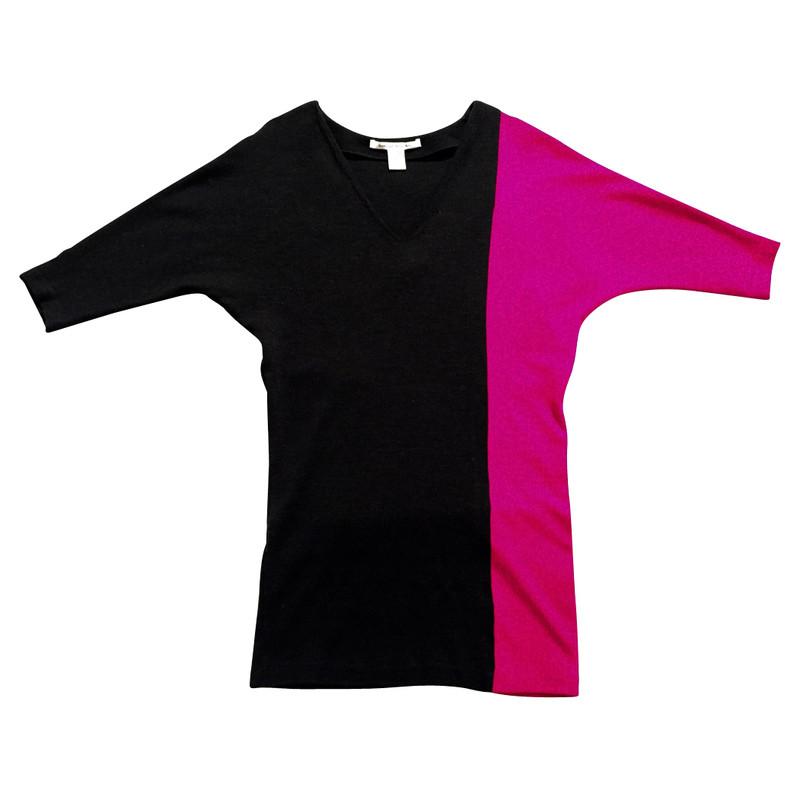Diane von Furstenberg Two-Tone Dress
