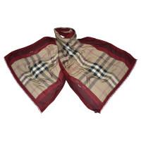 Burberry XXL sjaal met patroon