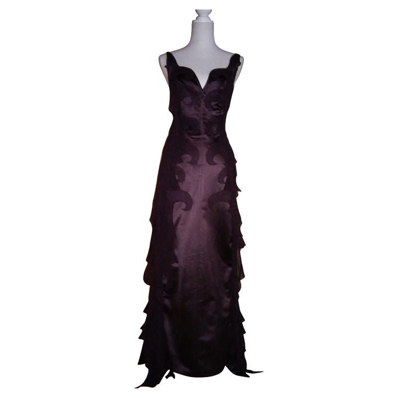 Costume National Floor length silk dress