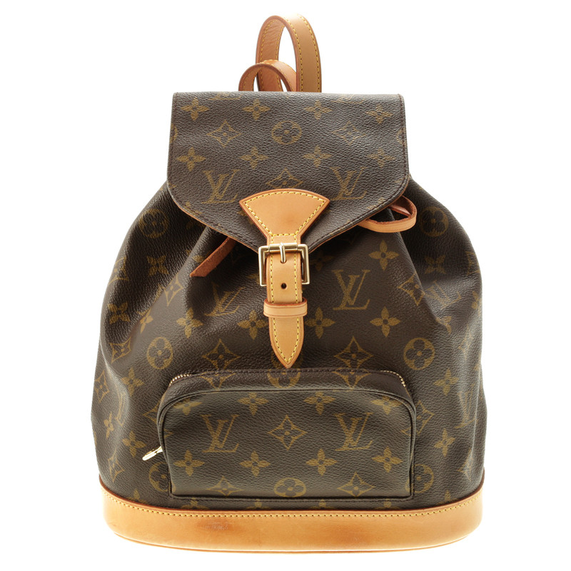 louis vuitton montsouris mm backpack monogram of canvas buy second hand louis vuitton. Black Bedroom Furniture Sets. Home Design Ideas