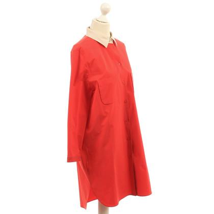 Carven Vestito rosso camicette