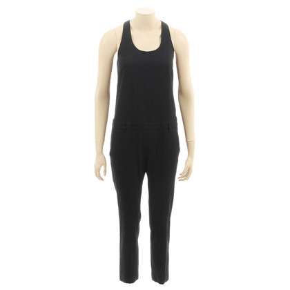 MSGM Jumpsuit in zwart-wit