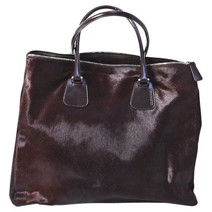 Jil Sander Handbag with fur