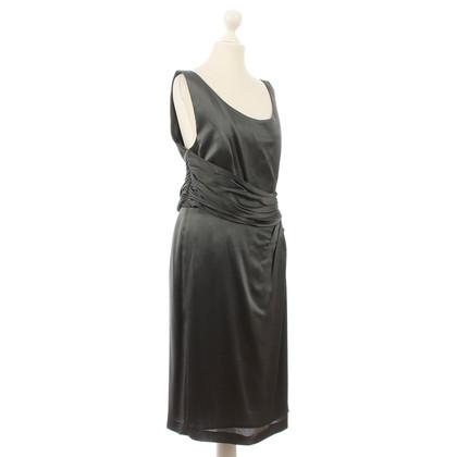 Alberta Ferretti Grey silk dress