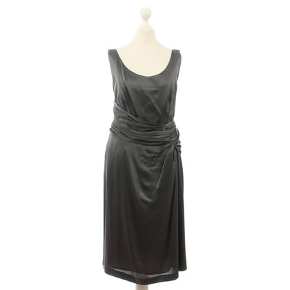 Alberta Ferretti Grey silk dress