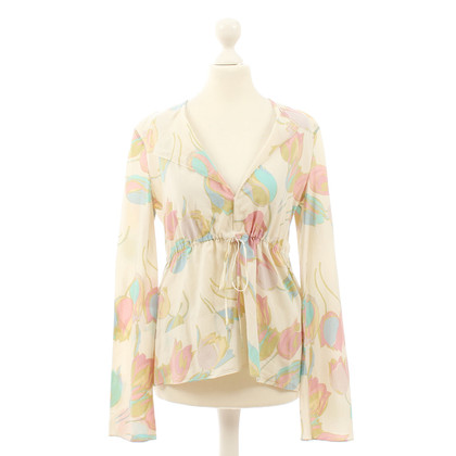 Marni Tunic blouse with floral print