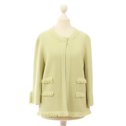 B Private Limettengrüner Cardigan