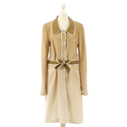 Viktor & Rolf Coat dress with color gradient