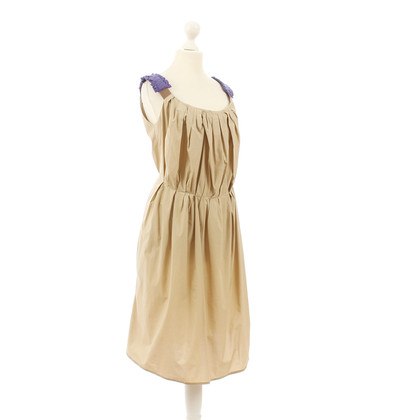 Maurizio Pecoraro  Dress in beige