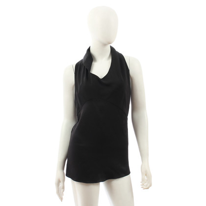 Narciso Rodriguez Black top with silk