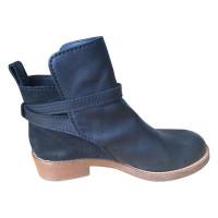 Acne Black Leren boots