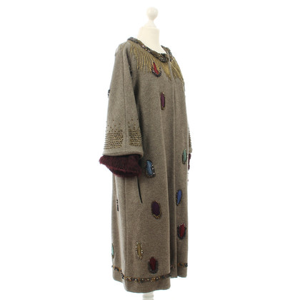 Maurizio Pecoraro  Coat with applications