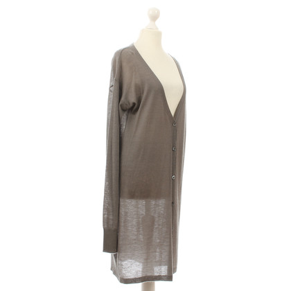Dear Cashmere Cardigan long gris
