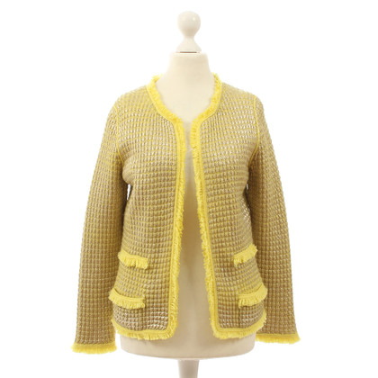 B Private Yellow Cardigan