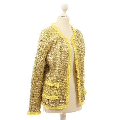 B Private Cardigan giallo