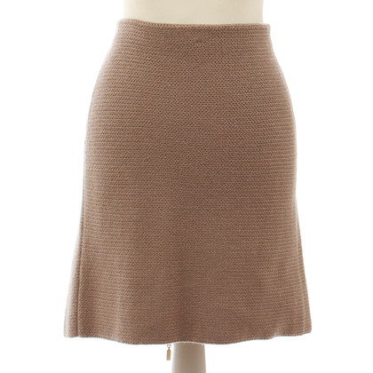 B Private Cashmere skirt in dusty pink