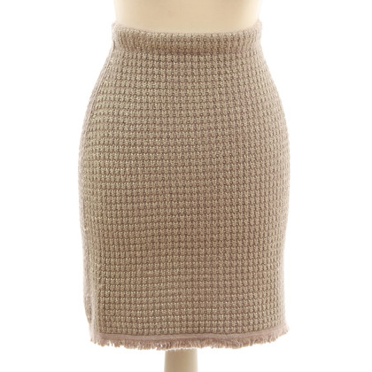 B Private skirt from cashmere and silk