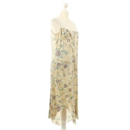 Marni Silk dress with floral print