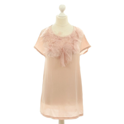 Alice + Olivia Langes Shirt in zartem Rosa