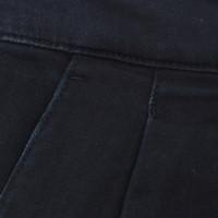 Prada Donkerblauwe jeans met plooien