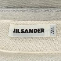 Jil Sander Kleid in Silber