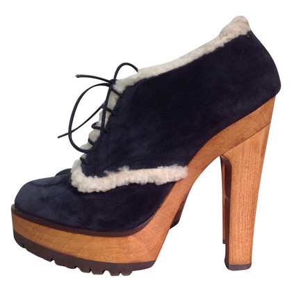 Dolce & Gabbana Ankle boots with fur