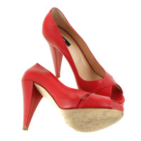Bally Rouges peep-orteils
