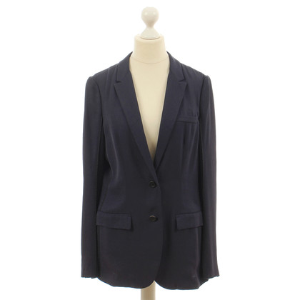 Prada Long-Blazer in Blau