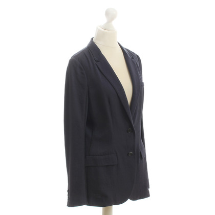 Prada Long Blazer in blue