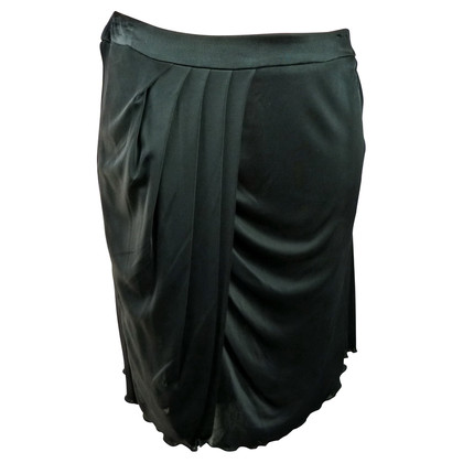 Versace Black skirt with drap age