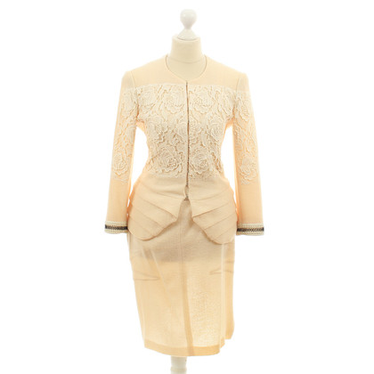Christian Dior Cream lace ensemble