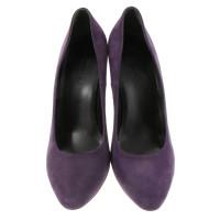 Balenciaga Violettfarbene Pumps