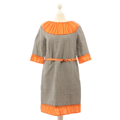 Wunderkind Dress with gingham